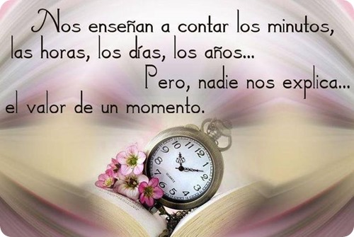 valor del momento
