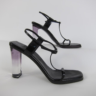 Gucci Lucite Heeled Sandals