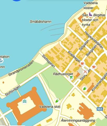 Vadstena karta