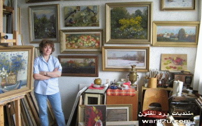 الرسامة الروسية Olga Kalashnikova