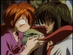 Somebody's got a leg up on Kenshin...