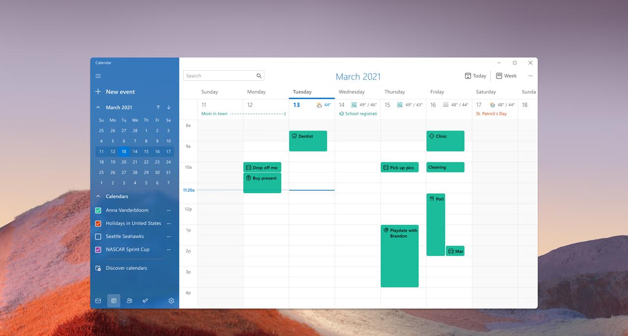 Ecco i primi refresh delle App Microsoft in Windows 11