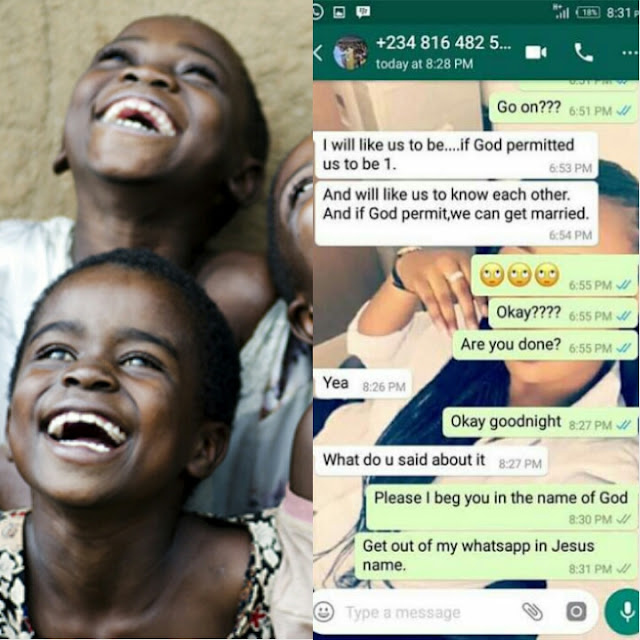 Savage!: Checkout A Lady's Reply To A Guy Who Asked Her Hand In Marriage
