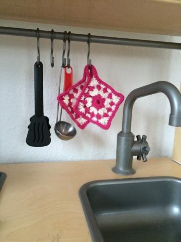 Mädchen Mama Blog Topflappen Für Die Kinderküche