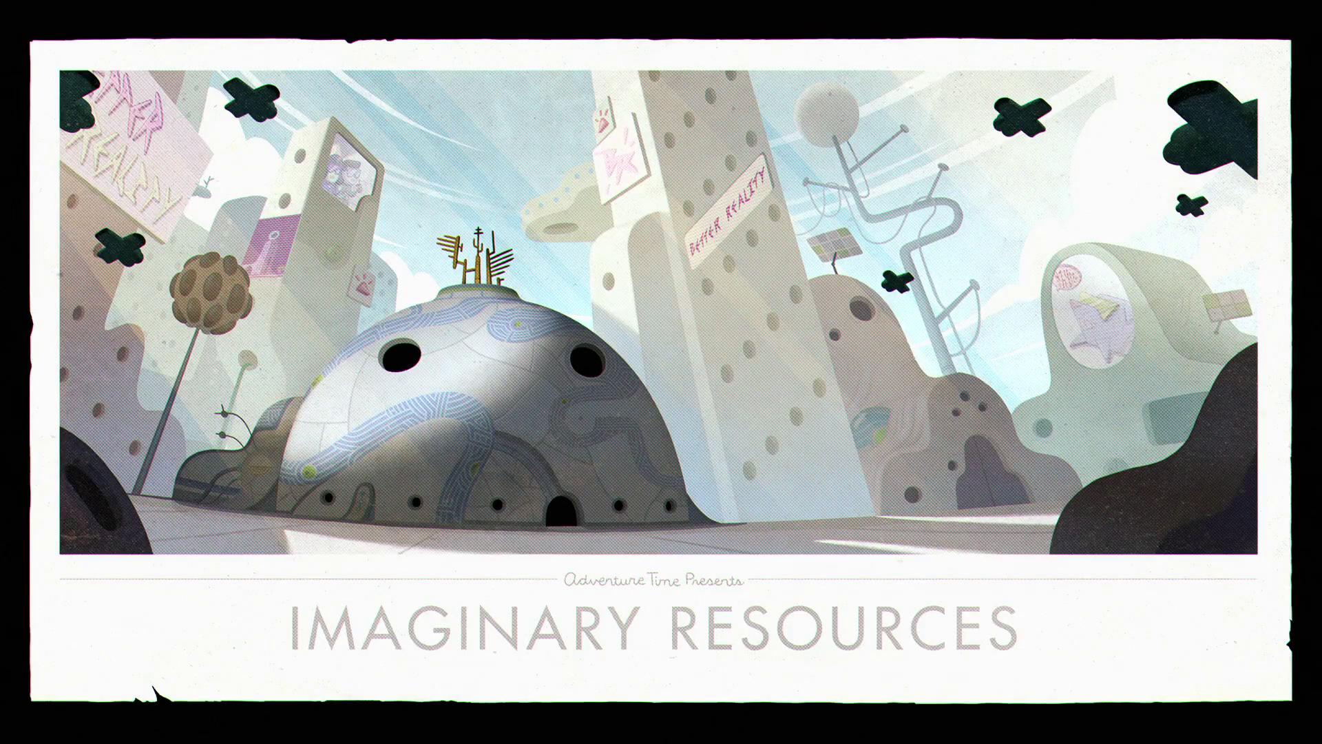 Hora de Aventura - Ilhas: Recursos Imaginários