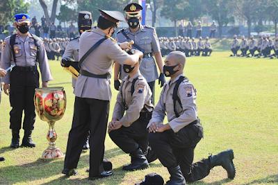 Kapolda Jateng Buka Pendidikan Pembentukan Bintara Polri Tahun 2021 di SPN Polda Jateng Purwokerto