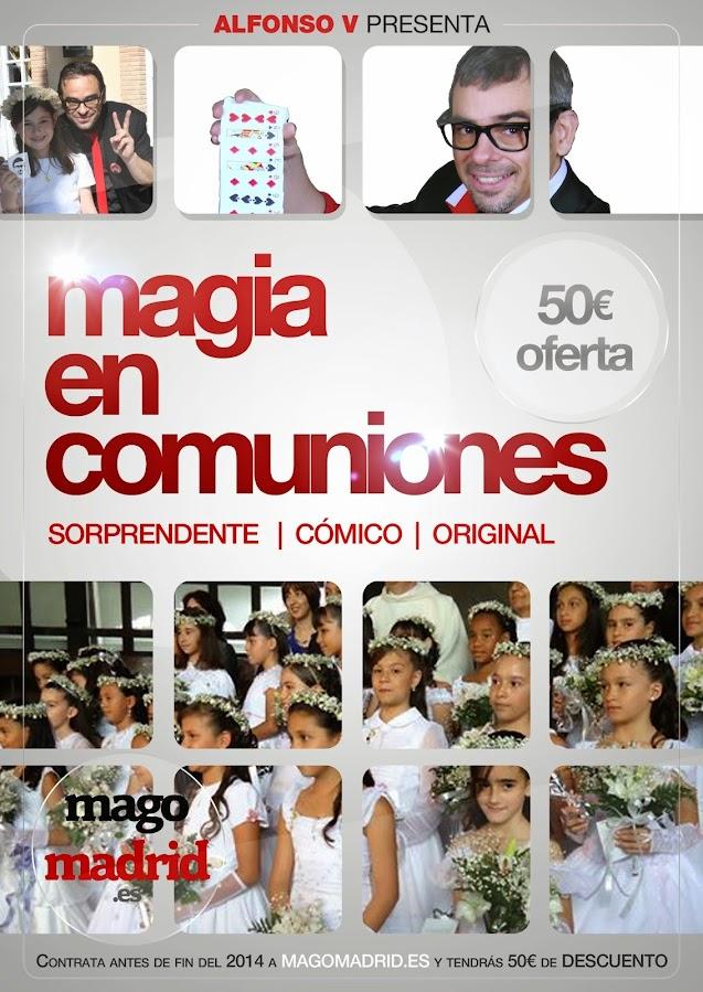 Magia en Comuniones Madrid 2014