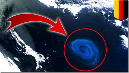 mega-vortex in the Atlantic Ocean