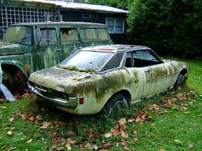 Abandoned Toyota Celica TA22