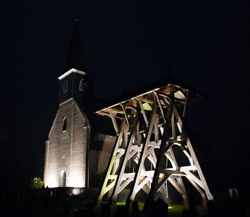 December 2014&#x3B; Kerk Wijnjeterp verlicht