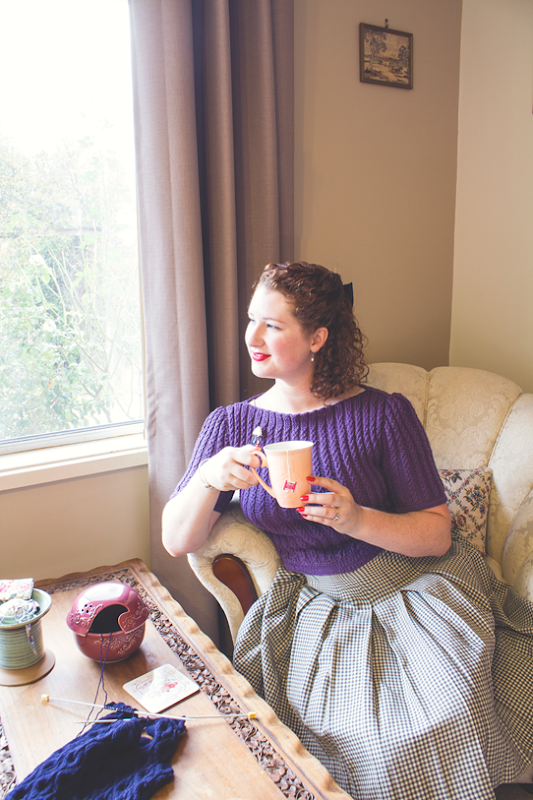 A 1940's look and vintage inspired home decor | Lavender & Twill
