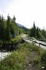 På gränsen till Västerbottens län precis vid Slipsikåns slut