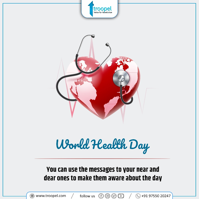 World Health Day : Health for individuals is only possible in the context of a healthy environment and society