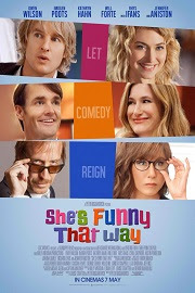 Lío en Broadway (She's Funny That Way) (2014)