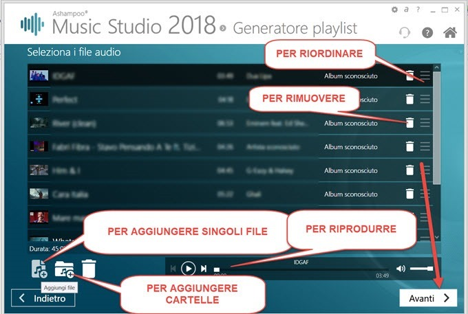 creazione-della-playlist