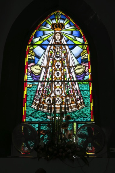 Shrine Stained Glass