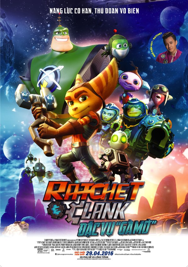 Đặc Vụ Gà Mờ - Ratchet And Clank (2016)