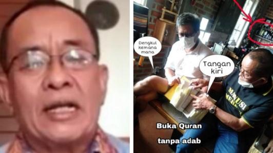 Said Didu Disebut Menista Alquran dan Ditanya Apa Sering 'Malingi Duit Rakyat' saat Jadi Pejabat