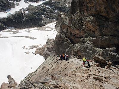 Últims metres del recorregut de la Bretxa de Latour
