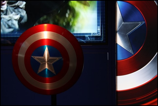 Marvel Avengers S.T.A.T.I.O.N. London Captain America's Shield