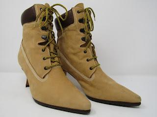 Manolo Blahnik 'Timbs' Boots