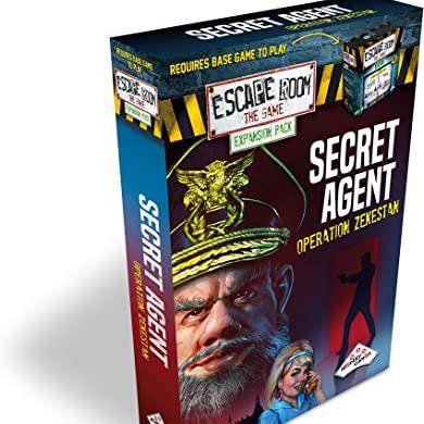 Escape Room: Secret Agent Operation Zekestan