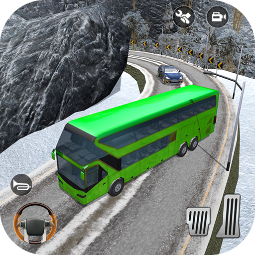 Bus Hill Driving Simulator - Bus Hill Climb 3D Android APK Download Free By Fun Game Sim Publishing