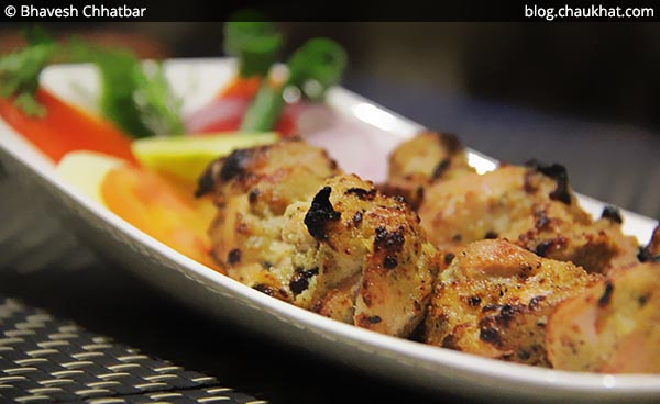 Close-up of Murg Kali Mirch at SocialClinic Restobar in Koregaon Park area of Pune