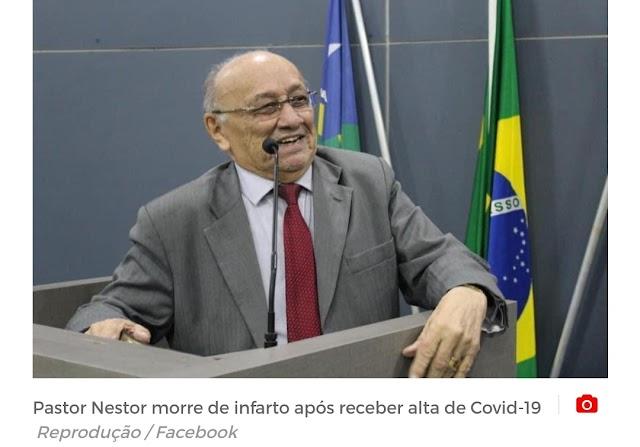 Pastor Nestor, presidente da Assembleia de Deus do Piauí, morre vítima de infarto em Teresina