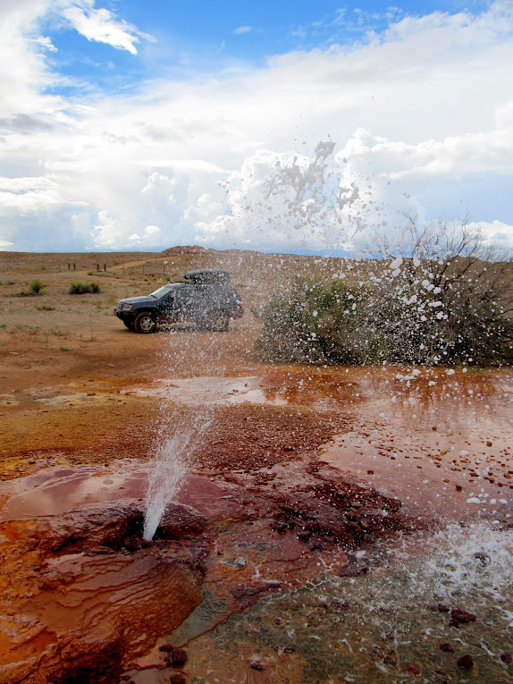 Chaffin Ranch Geyser