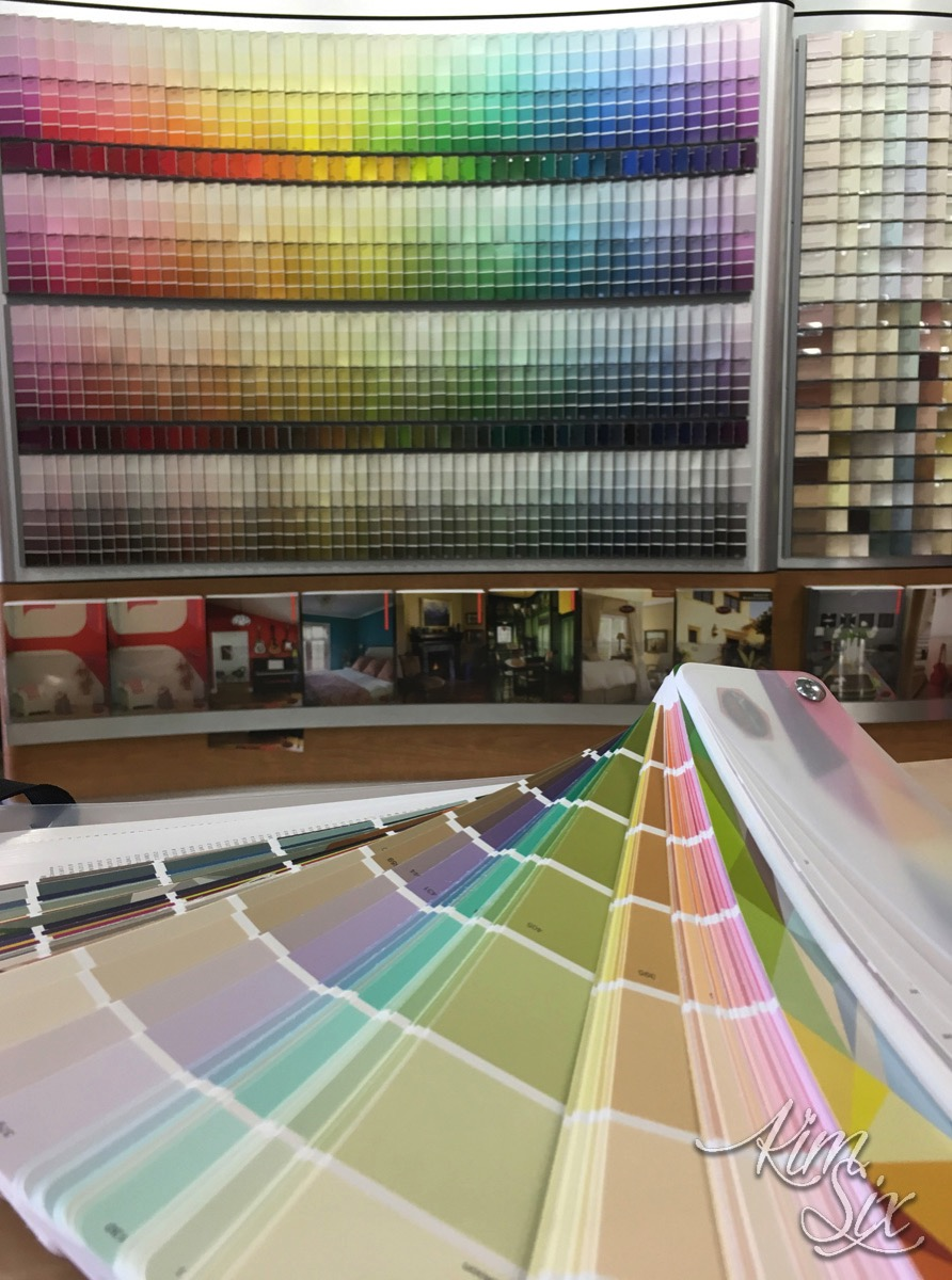 Dunn Edwards Paint Color Selection