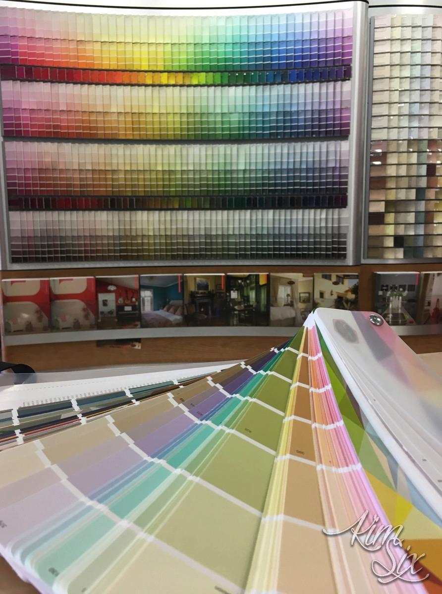 Dunn Edwards Paint Color Selection