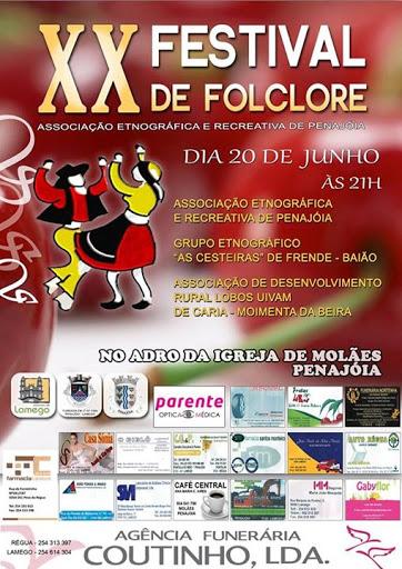 XX Festival Folclórico da Penajóia - 20 de junho de 2015 - Lamego