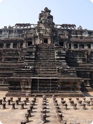 Baphuon from Angkor Thom