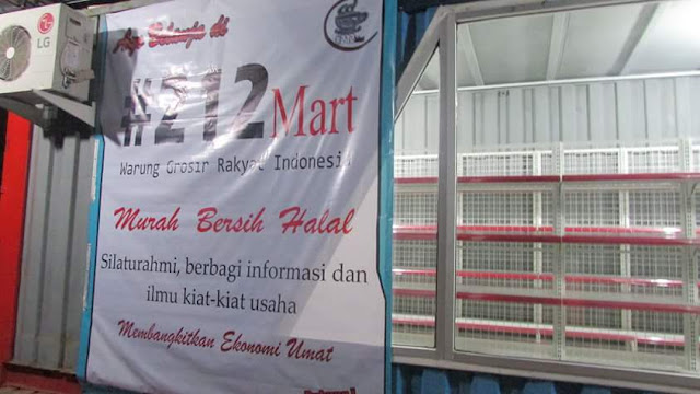 Supermarket 212 pertama berdiri di banten