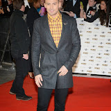 WWW.ENTSIMAGES.COM -    X Factor contestant     Jake Quickenden    arriving at   MOBO Awards 2014 at SSE Arena Wembley October 22nd 2014Annual awards show recognising the best in urban music which is supported by HTC Photo Mobis Photos/OIC 0203 174 1069