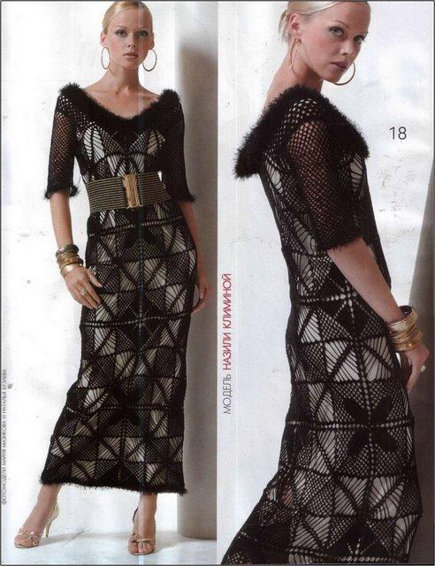 Crochet Style ~: ~Vestidos rusos