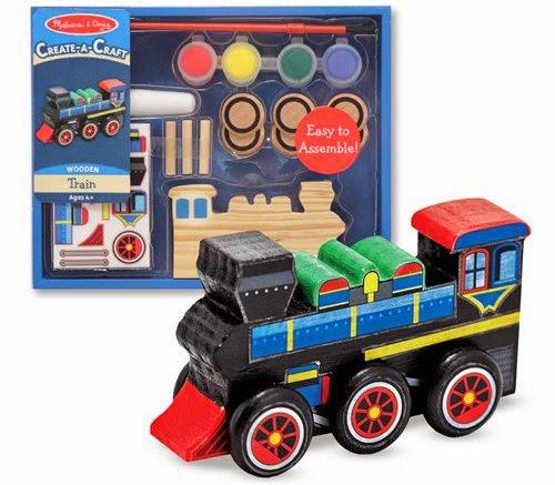 Bộ tô màu và thiết kế xe lửa bằng gỗ ME4576 rèn luyện cho bé sự sáng tạo