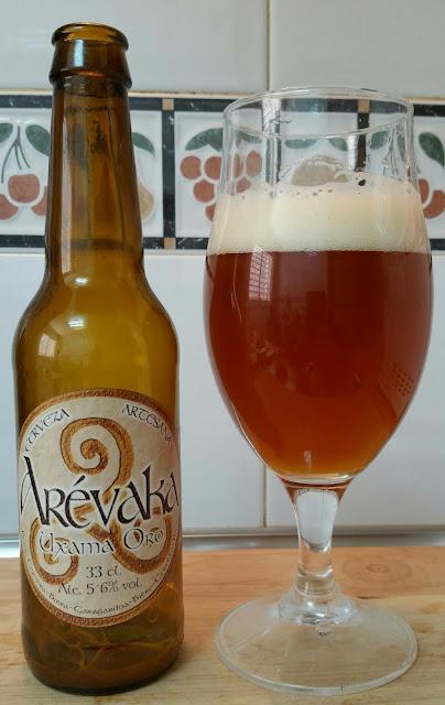 cerveza Arevaka Uxama Oro cervezame en los labios