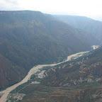 En el cañón del Chicamocha