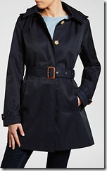 Lauren Ralph Lauren hooded raincoat or trench coat