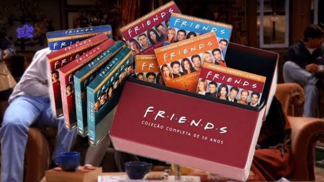 Todos os DVDs e Blu-rays de Friends Estão Disponíveis Na Amazon, Submarino E Americanas