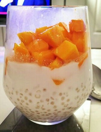 mango and tapioca
