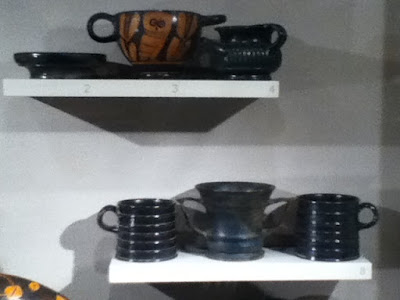 Drinking vessels of the ancient Greeks
