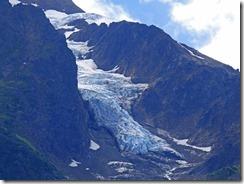 Glacier along Glacier Highway
