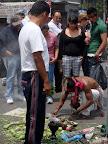 Medicine Man at Zocalo in Mexico City