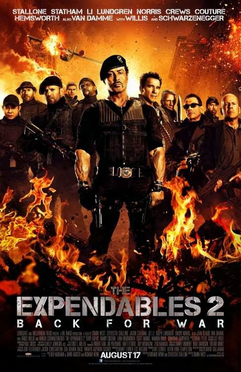 Poster Of The Expendables 2 (2012) Full Movie Hindi Dubbed Free Download Watch Online At alldownloads4u.com
