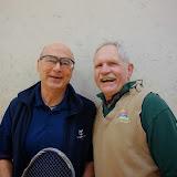 Men 70+ Singles: Tim Brown, Finalist, with Wayne Hodges
