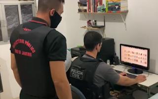 Polícia faz operação contra quadrilha que praticava extorsões através de fake news