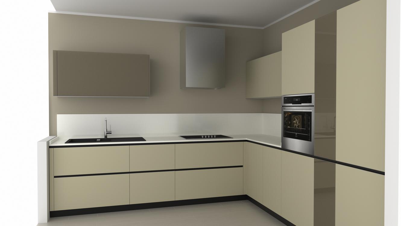 Progettazione arredamento con rendering 3d carminati e for Progetto 3d cucina